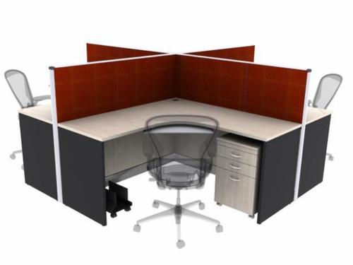 Office Modular Workstation in  Pisoli
