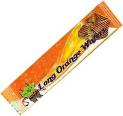 Long Orange Wafer Biscuits Swish Consumer Food Product