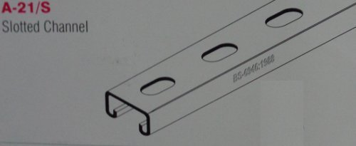 Slotted Channel For Cable Trays (A-21/S)