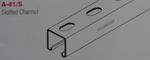 Slotted Channel For Cable Trays (A-41/S)