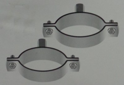 Unlined Pipe Clamps