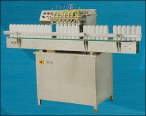 Automatic Six Head Twin Air Jet Cleaning Machine (Airwash-150)