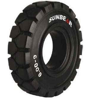 Solid Cushion Forklift Tyre