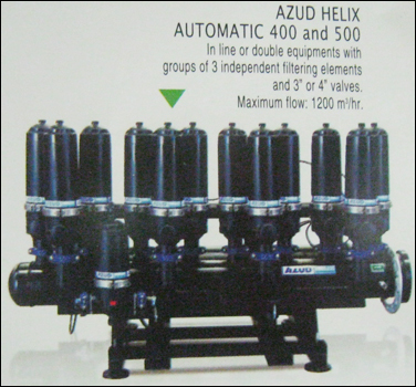 Helix Automatic 400 And 500 Filters