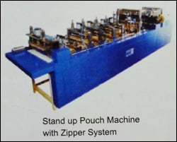 Stand Up Pouch Machine With Zipper System