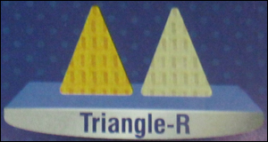 Triangle-R Shaped Papad (Snacks Pellets)