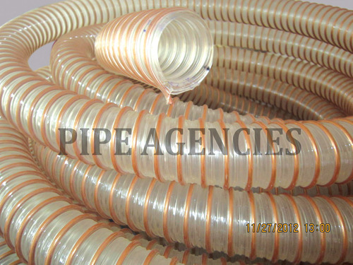 Pvc Duct Hose With Rigid Pvc Reinforcement In Coimbatore