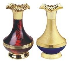 Gold Star Decorative Vases