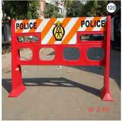 Plastic And Metal Barricades