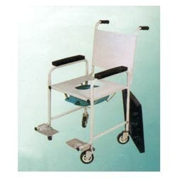 Robust Fix Wheel Chair With Commode