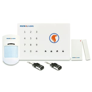 Touch Pad Wireless Home Intruder Alarm
