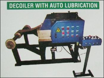 Auto Lubrication Decoiler