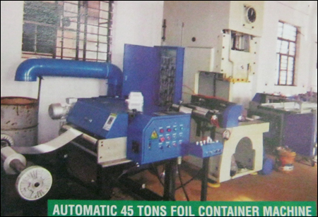 Automatic 45 Tons Foil Container Machine