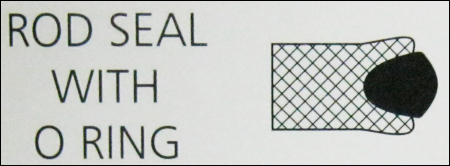 Rod Seal With O Ring in  Chinchwad