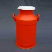 Red Color Plastic Milk Tank