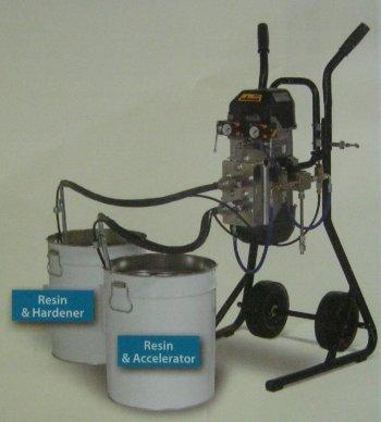 Polyester Mixing Machine