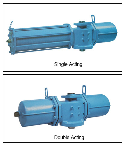 Pneumatic Actuator for Automatic Valve