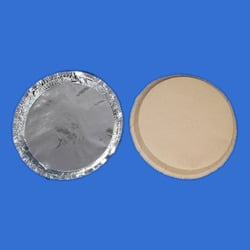 Silver Foil Laminated Paper Plates