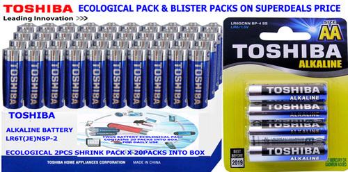 Ecological Package Alkaline Batteries