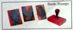 Birds Rubber Stamps (Ss 138)