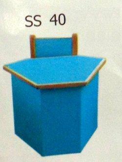 Play School Kids Bench (Ss 40)