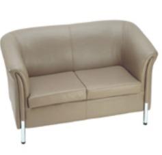 Two Seat Sofa-Light Brown (TOS-1306)