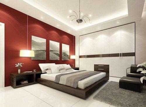 Sober Bedroom Interior Designing in New Area, Pune - Space Marker\'s