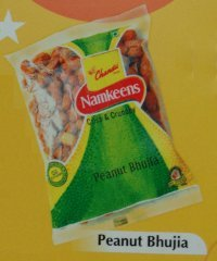 Peanut Bhujia Namkeens (Clear Packs) in  Walkeshwar Road