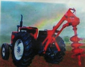 Post Hole Digger For All Tractor