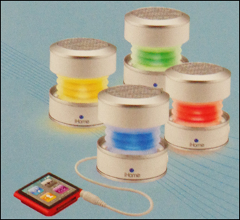 Portable Rechargeable Color Changing Mini Speaker