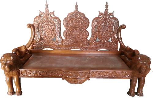 Wooden Carving Sofa In Memnagar (Navrangpura)