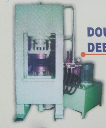 Double Acting Deep Drawing Press