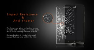 Explosion Proof Clear LCD Screen Protector For Asus Zenfone 5