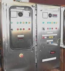 Stainless Steel Control Panel