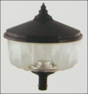 Post Top Lantern (Lotus)