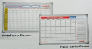 Printed Yearly Planners