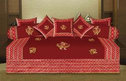 Embroidery Patchwork Diwan Set