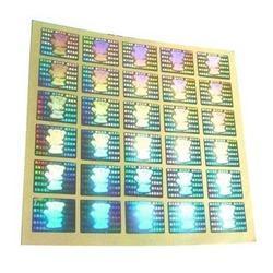 Hologram Label Sticker