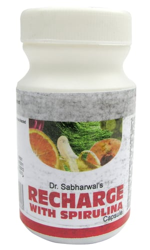 Recharge With Spirulina