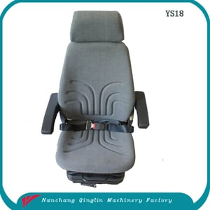 China Fabric or PVC Heavy Duty Suspension Truck Seat