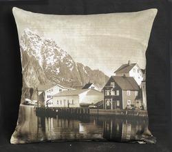 Nature Printed Cushion Cover - Karur Export Company, No:66, Kuluthu