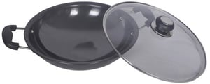 HA Chinesse Wok with Glass Lid
