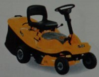 Small Ride-On-Mower with Grass Collection