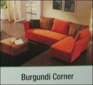 Burgundi Corner Sofa Set