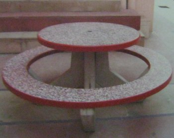 Astounding Concrete Round Table With Round Bench At Best Price In Caraccident5 Cool Chair Designs And Ideas Caraccident5Info