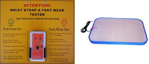 Wrist Strap And Foot Wear Tester