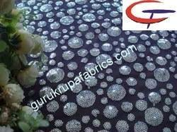 Embroidered Sequin Fabric
