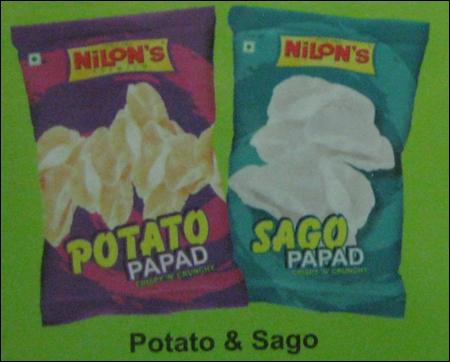 Potato And Sago Papad in  Baner