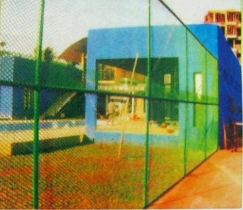 Tennis Court Enclosure
