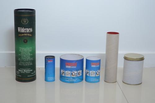 Composite Paper Container (Plastic And Metal Cap)